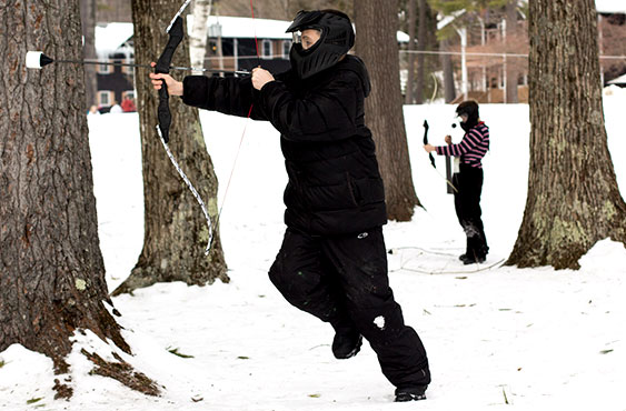 Bowcombat vinter aktivitet